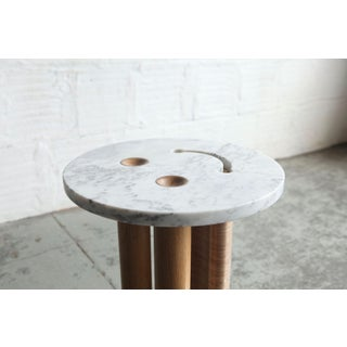 Contemporary Tgm Marble Smiley Side Table Preview