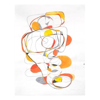 """Tracey Adams """"Balancing Act 4"""", Painting For Sale"""