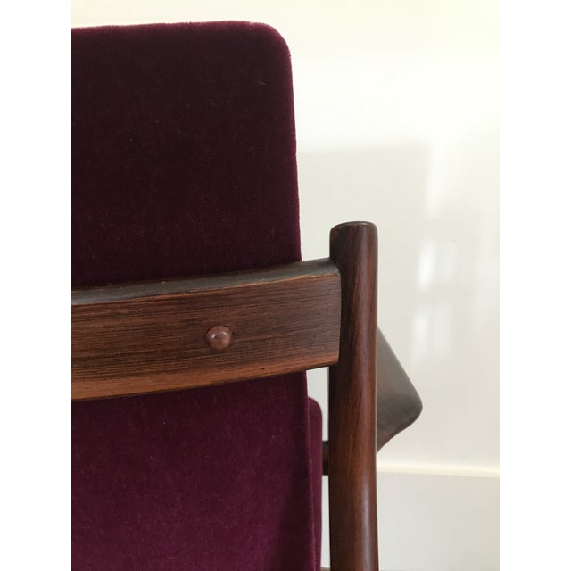 1960s Arne Vodder Rosewood Model 431 Chair For Sale - Image 5 of 9