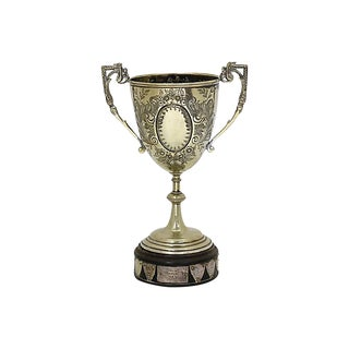 1950/60s English Silver-Plate Trophy For Sale
