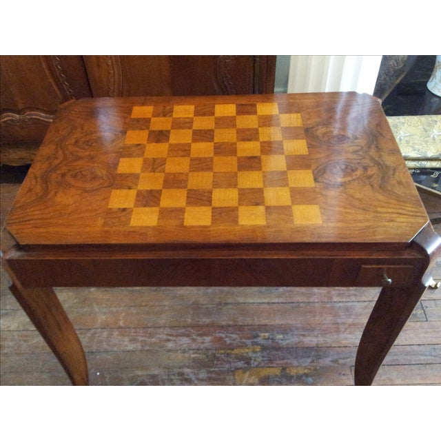 Art Deco Games Table - Image 3 of 8