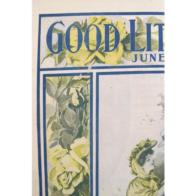 1907 Original Good Literature Magazine Cover, F.M. Lupton For Sale - Image 4 of 5
