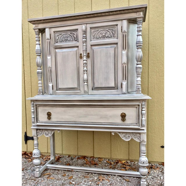 Antique Jacobean Style Hutch - Image 2 of 5