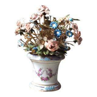 Vintage 1960s Gorham Fleurs Des Siècles Flower Arrangement by Jane Hutcheson For Sale