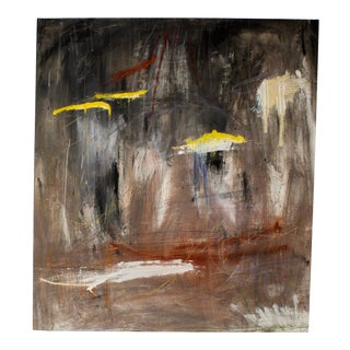 """""""I Cannot Help but to Feel Remorse"""" Contemporary Abstract Mixed-Media Painting by Brian Jerome For Sale"""