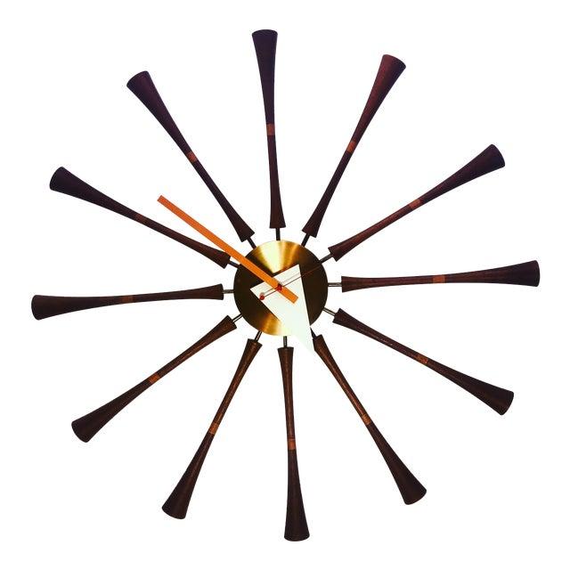 George Nelson & Associates Spool Wall Clock Model 2239 For Sale