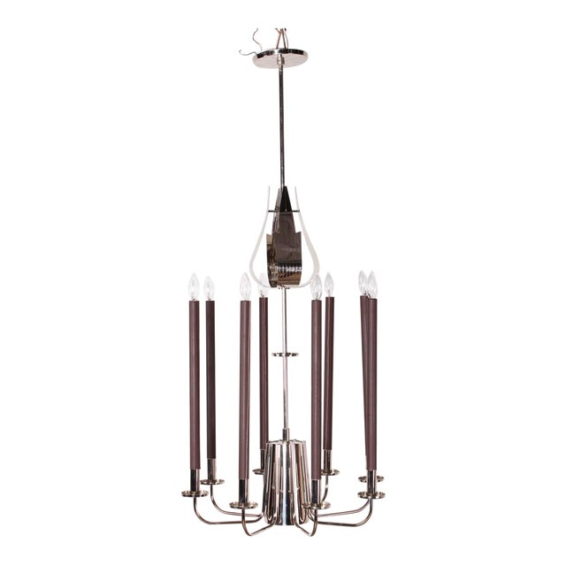 Large Chandelier by Tommi Parzinger - Image 1 of 10