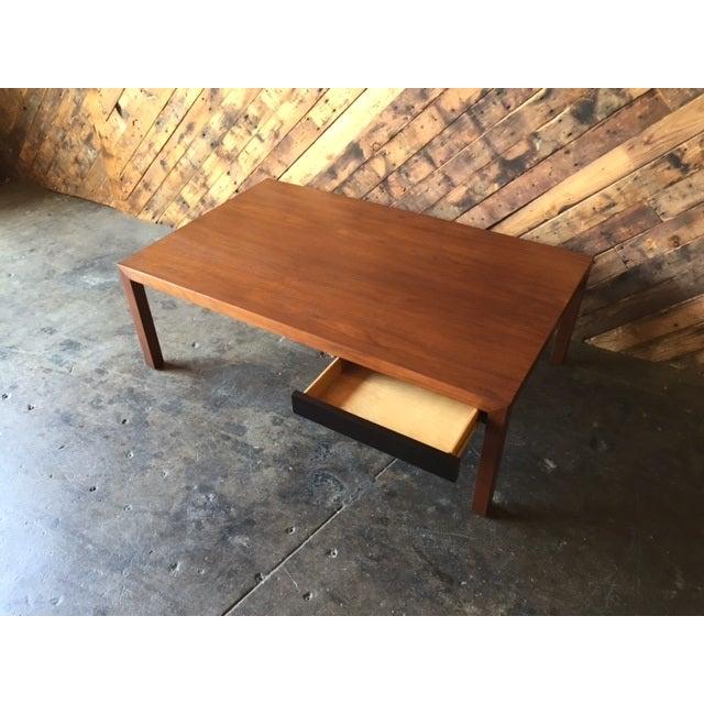 Mid-Century Walnut Coffee Table - Image 5 of 5