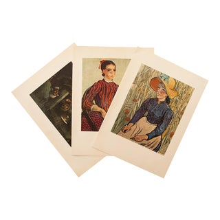 1950s Van Gogh, First Edition Lithographs, Set of 3 For Sale
