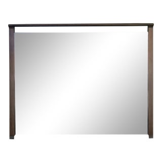 Mid Century Modern Wall Mirror by Drexel Profile For Sale