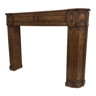 Carved Architectural Fireplace Mantel