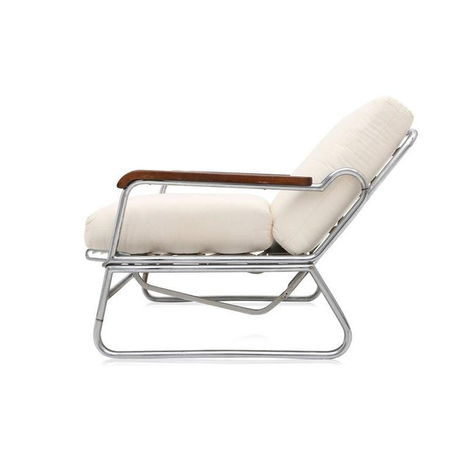 1950s Italian Swimming Pool Chaise Lounge Chair For Sale - Image 4 of 11