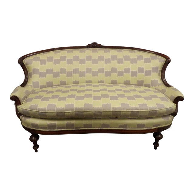 Early 20th Century Antique Settee For Sale