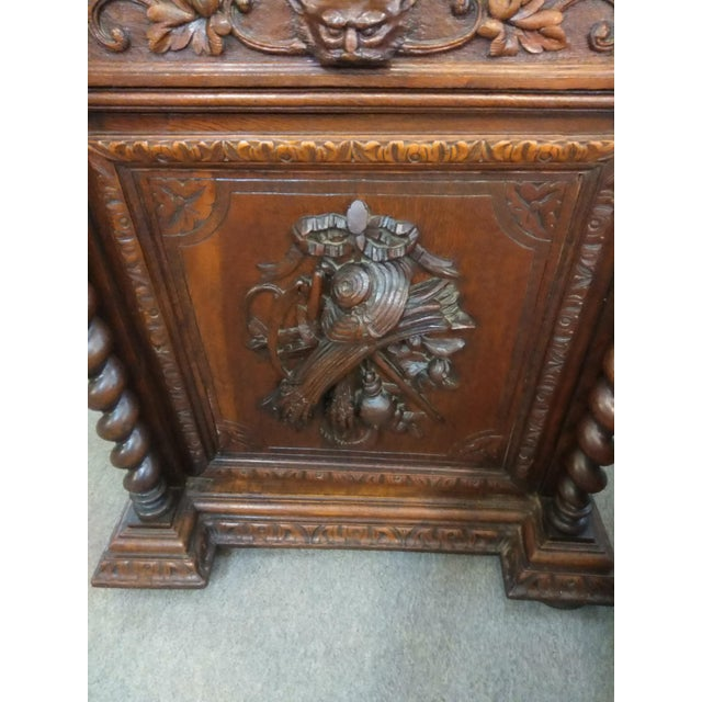 19th Century French Hunter's Cabinet/Bookcase For Sale - Image 9 of 13
