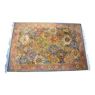 1980s Pande Cameron New York Indo-Persian Nizam Wool Rug For Sale