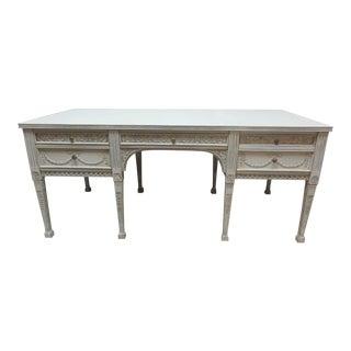 Gustavian Style 8 Leg Writing Desk For Sale
