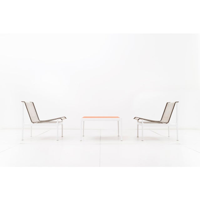 Knoll Set of Four Richard Schultz 1966 Series Armless Lounge Chairs For Sale - Image 4 of 7