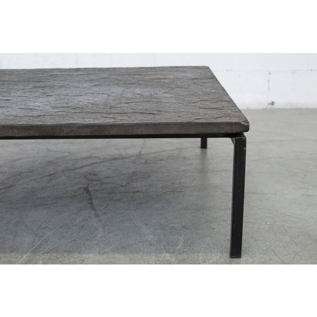 Square Stone Top Coffee Table - Image 4 of 9