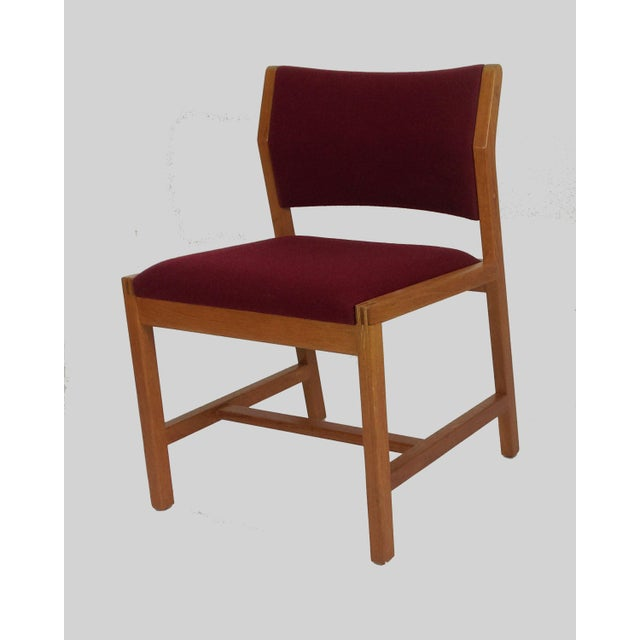 Danish Modern Borge Mogensen Model 3241 Dining Chairs, 1970s - Set of 6 For Sale - Image 3 of 7