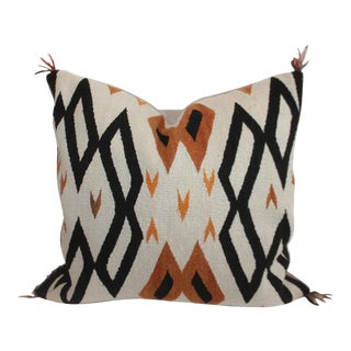 Navajo Indian Weaving / Saddle Blanket Pillow For Sale
