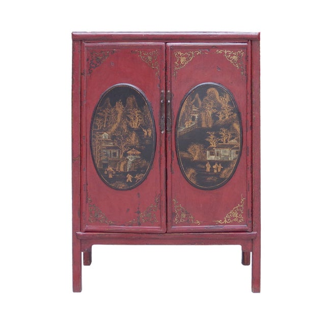 Medicine Herbs Cabinet with Small Drawers - Image 1 of 6