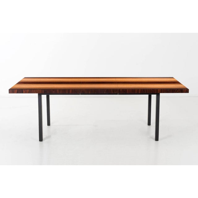 Mid-Century Modern Milo Baughman Dining Table for Directional For Sale - Image 3 of 13