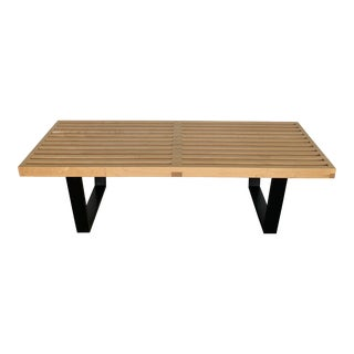 Modern George Nelson Platform Bench For Sale