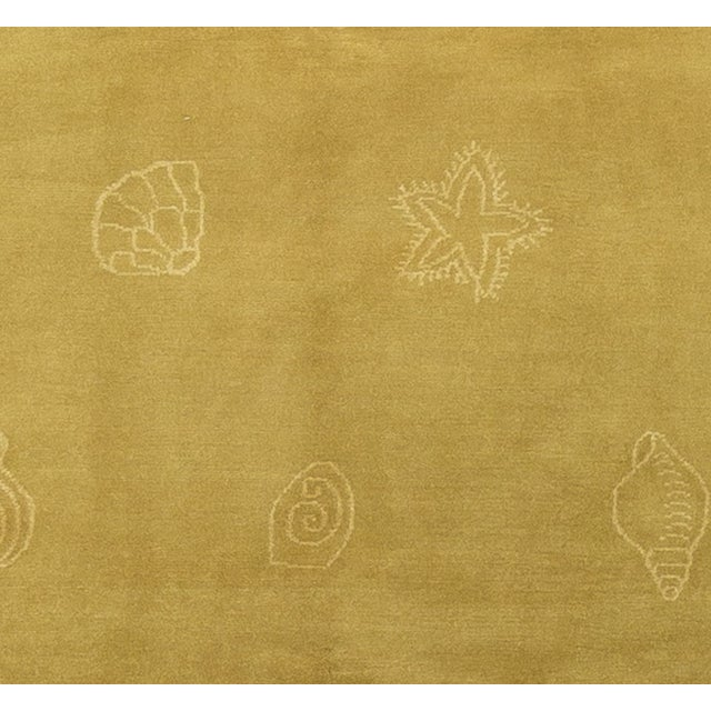 Nautical Hand-Knotted Wool Rug - 7′11″ × 10′1 - Image 3 of 4