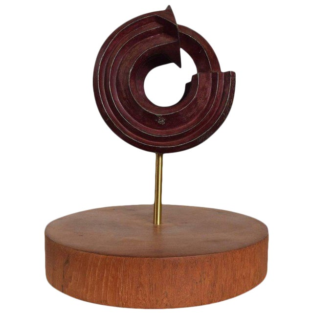 Modern Bronze Sculpture by Sebastian, Enrique Carbajal Gonzalez For Sale