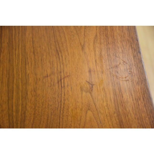 Ward Furniture Walnut Dresser & Mirror - Image 6 of 10