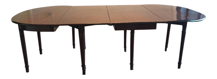 Early 20th Century Chippendale Extendable Mahogany Dining Table   Image 13  Of 13