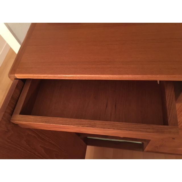 1980s 1980s Mid-Century Modern Scan Design Teak Gentlemen's Dresser For Sale - Image 5 of 6