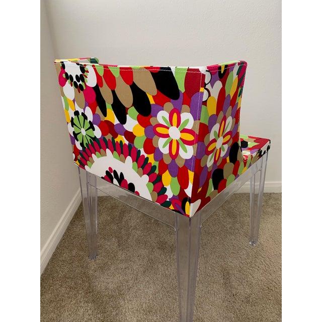 Kartell Phillipe Starck Missoni Mademoiselle Replica Chair For Sale - Image 4 of 9