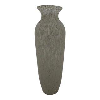 Mid-Century Modern Murano Glass Scavo Vase