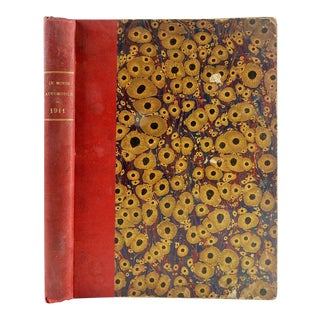 1911 French Le Monde Automobile Book For Sale