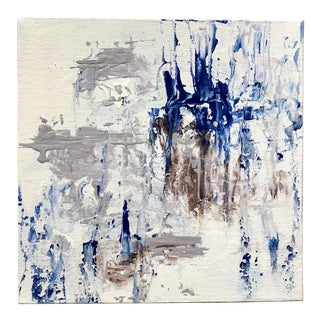 Final Markdown Before Deactivation! Nancy Smith Original Abstract Acrylic Painting For Sale
