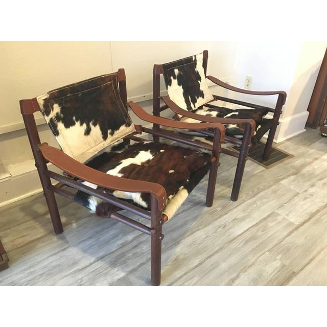 """Arne Norell """"Sirocco"""" Safari Chairs - A Pair - Image 2 of 5"""