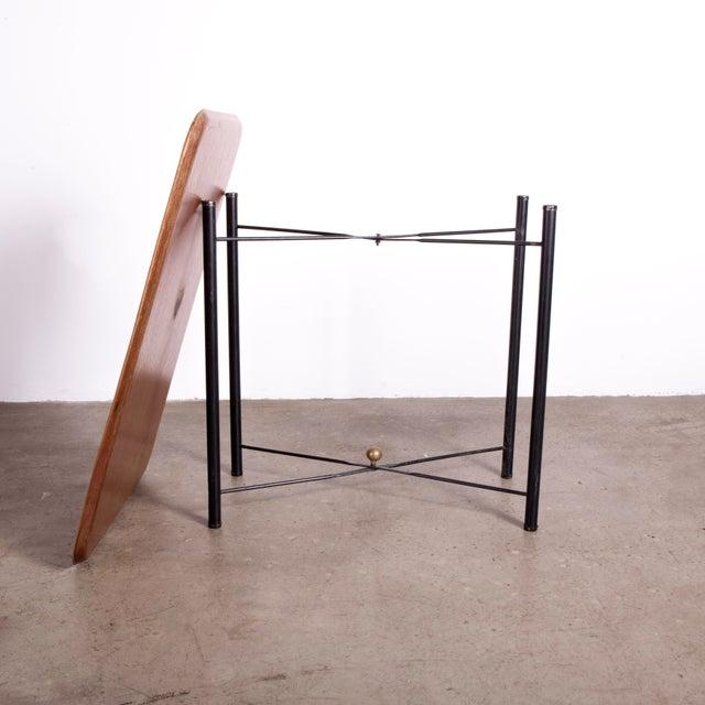 Danish Teak Folding Tray by Fritz Hansen For Sale - Image 4 of 6