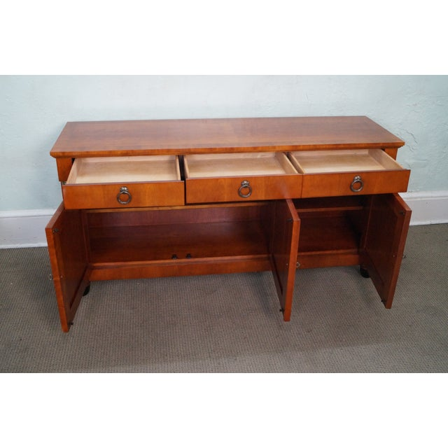 Baker French Empire Style Fruitwood Sideboard For Sale - Image 5 of 10