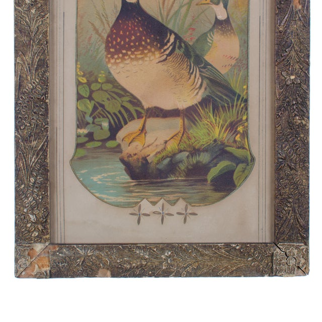 Victorian Duck Chromolithograph Print For Sale - Image 4 of 7