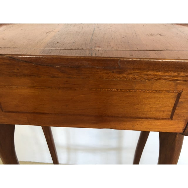 Brown 19th Century Biedermeier Side Table or Stand For Sale - Image 8 of 12