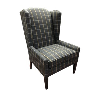Modern C. R. Laine Pierce Wing Chair For Sale