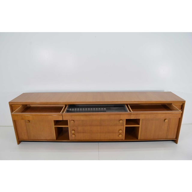 Paul Frankl Custom Birch Cabinet For Sale - Image 9 of 13