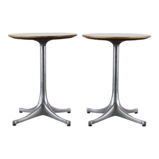Set of Two George Nelson for Herman Miller Side Tables For Sale