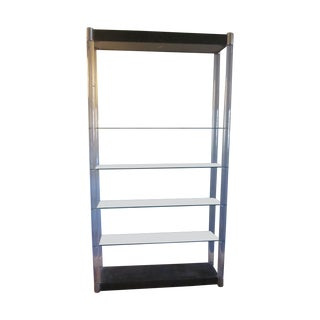 Lucite Etagere Wall Unit, Charles Hollis Jones For Sale