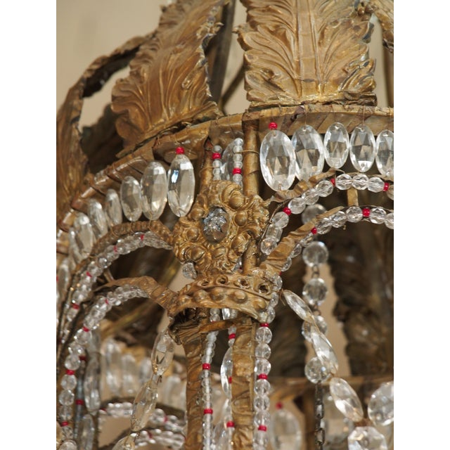 Empire Crystal Chandelier - Image 6 of 9
