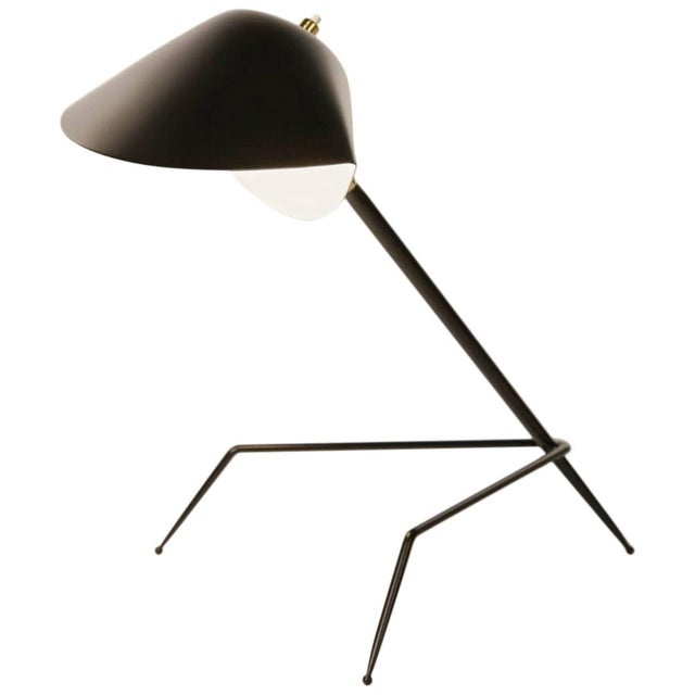 2010s Serge Mouille Tripod Desk Lamp For Sale - Image 5 of 5