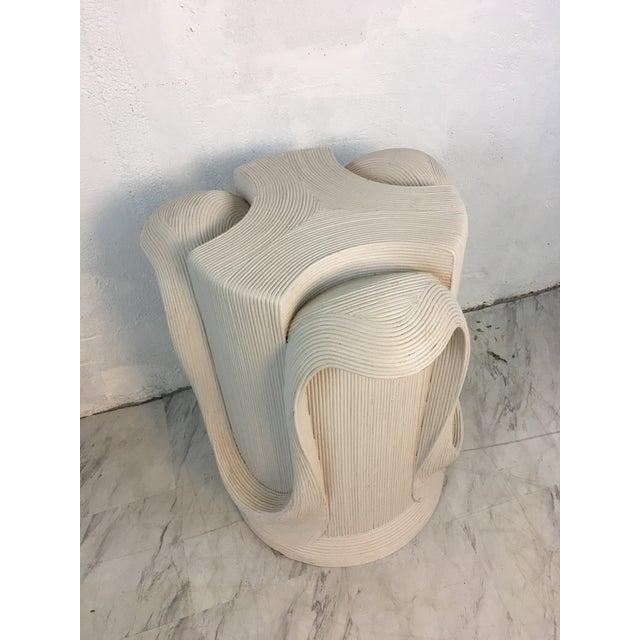 Wood Betty Cobonpue Pedestal For Sale - Image 7 of 10