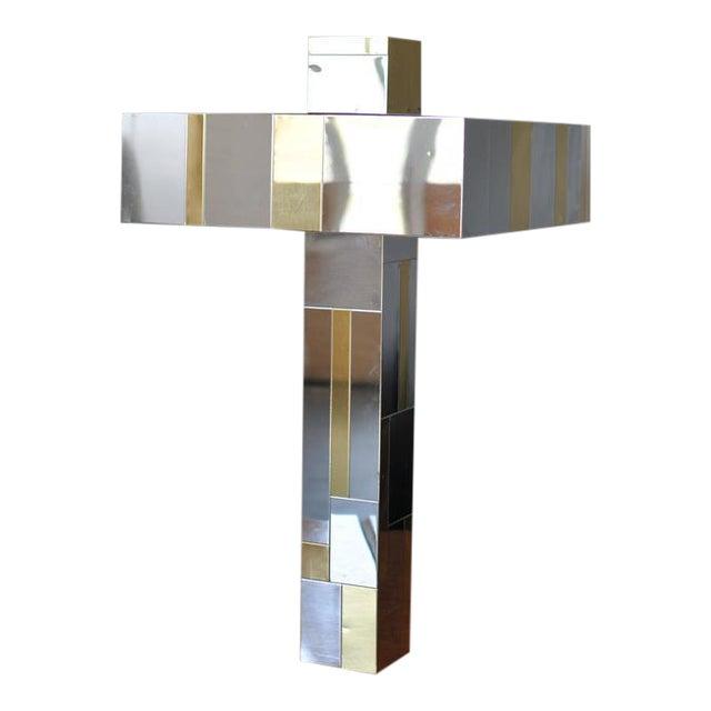 Paul Evans Cityscape Table Lamp For Sale