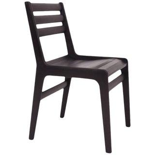 Asa Pingree Fenelon Wood Chair in Ebonized Black Maple For Sale